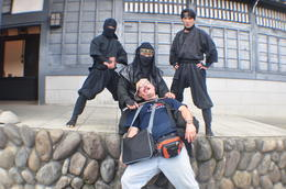 Me being killed by the ninjas! , larcy - September 2013