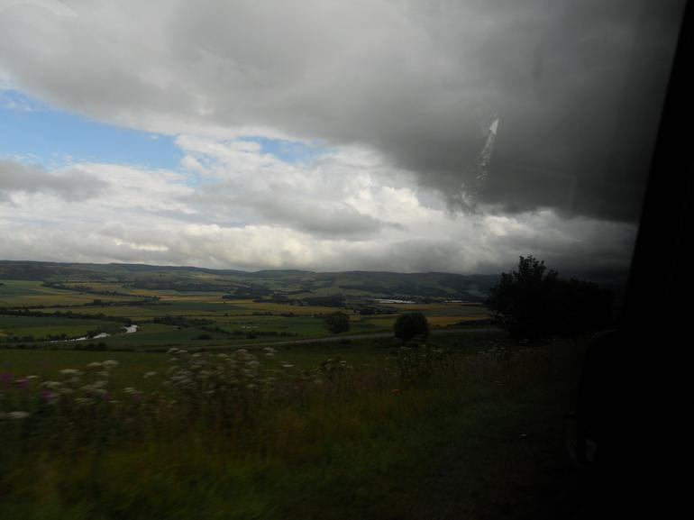 On the way to Stirling - Glasgow