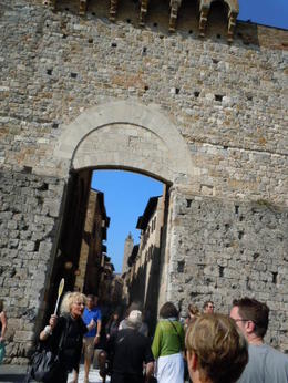 Entrance to San Gimignano , Luanne H - May 2011