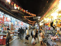 A broad view of one of the streets of Chinatown markets. , Dean R K - August 2014