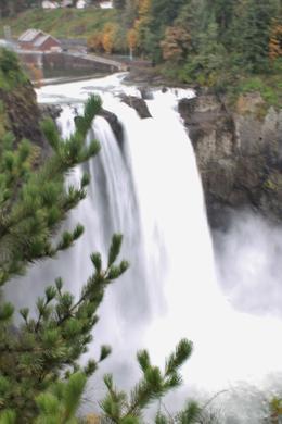 Snoqualmie Falls , Marie P - October 2013