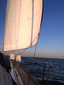A nice sailing yacht! :- , Katharina K - October 2015