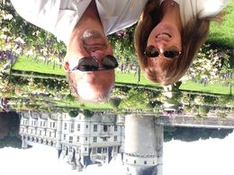 Fernando and Liz visiting the chateaux on a beautiful day , lmurias2 - September 2015