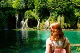 Although I was rushed through this section of the hike, the upper Plitvice lake falls were truly beautiful. , Elle G - August 2015