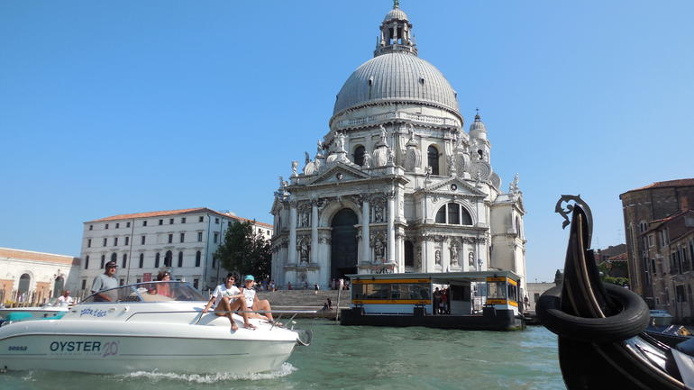 View of Grand Canal - Venice