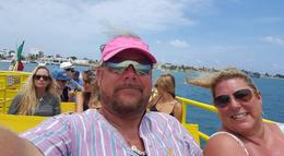On the ferry from Cancun, headed to Isla Mujeres. , geongeo - January 2017
