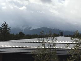 Mt. Fuji from observation deck at Fujisan , Marius G - February 2017