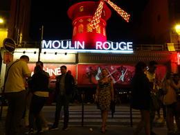 Lisa outside Moulin Rouge no photos allowed inside. , Lisa C - July 2017