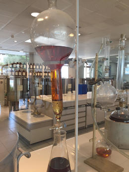 Perfume being made in Grasse , Karen S - July 2017