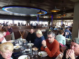 Champagne Lunch on Eiffel Tower with tour group , mike - September 2017