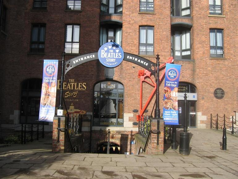 Beatles Story Museum Entrance - London