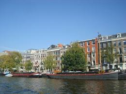 Boat trip, Amsterdam canals - June 2011
