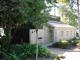 The bathroom that George Michael was arrested at for lewd behavior back in 1998 - October 2009