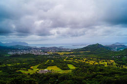 Pali Lookout , Apoetess - June 2012