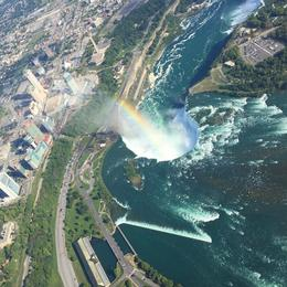 Niagara Helicopter Tour views from the heavens! , Lainey - September 2016