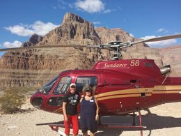 Krister and Eva in Grand Canyon. Picture taken by our excellent pilot Andrew. , Krister L - October 2015
