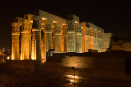 Columns of Luxor Temple - June 2011