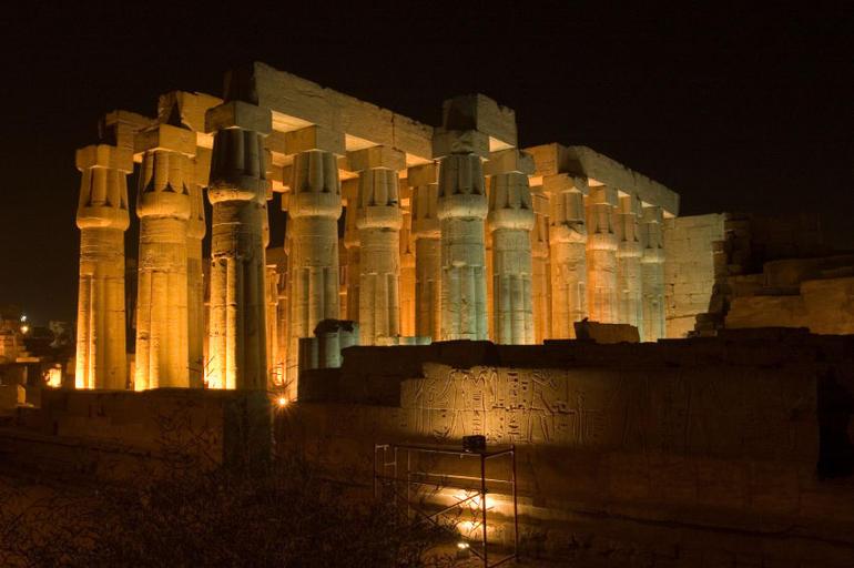 Luxor Temple at Night - Luxor