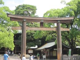 Arriving at the Sento Shrine - July 2010