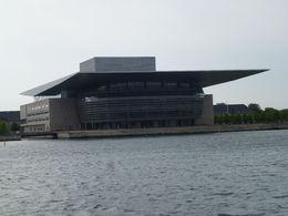 Vista de la Casa de la Ópera en Copenhagen, Dinamarca , Luz M. P - June 2015