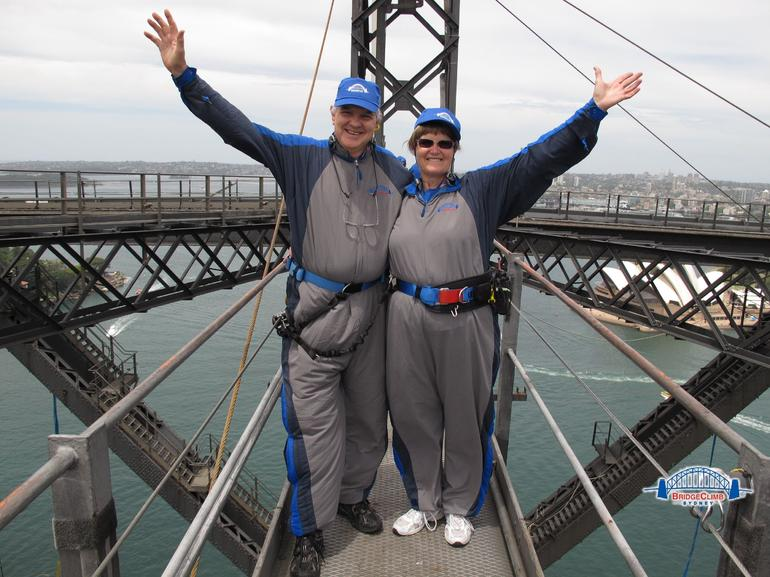 Rod and Rosemary on climb of a lifetime!!! - Sydney