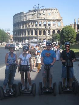 Everything is easy on Segways., Danina S - August 2009