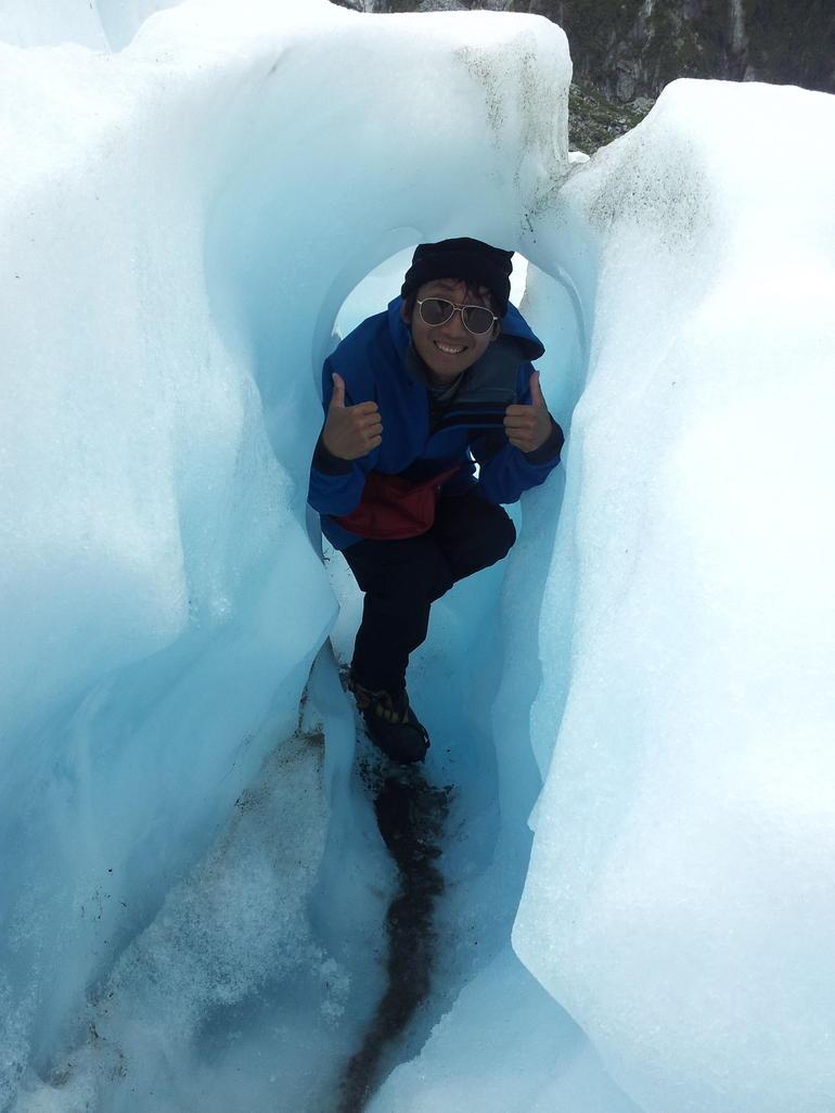 Snow cave - Franz Josef & Fox Glacier