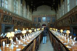 Only Christchurch College members may sit here... Unless you are also enrolled in Hogwarts, Janet S - October 2009