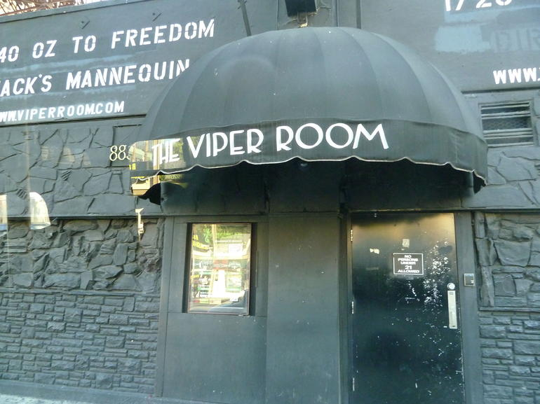 The infamous Viper Room - Los Angeles