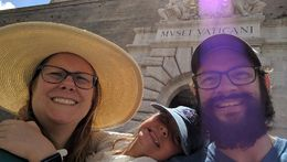 We are so happy after seeing the treasures of the Vatican! , Todd T - July 2016