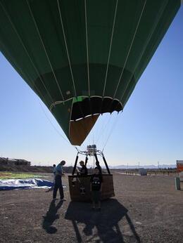 Safe landing..., Becky - August 2011