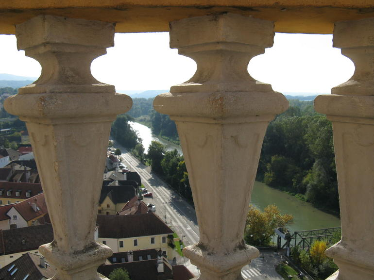 View of Melk from Monastery - Vienna