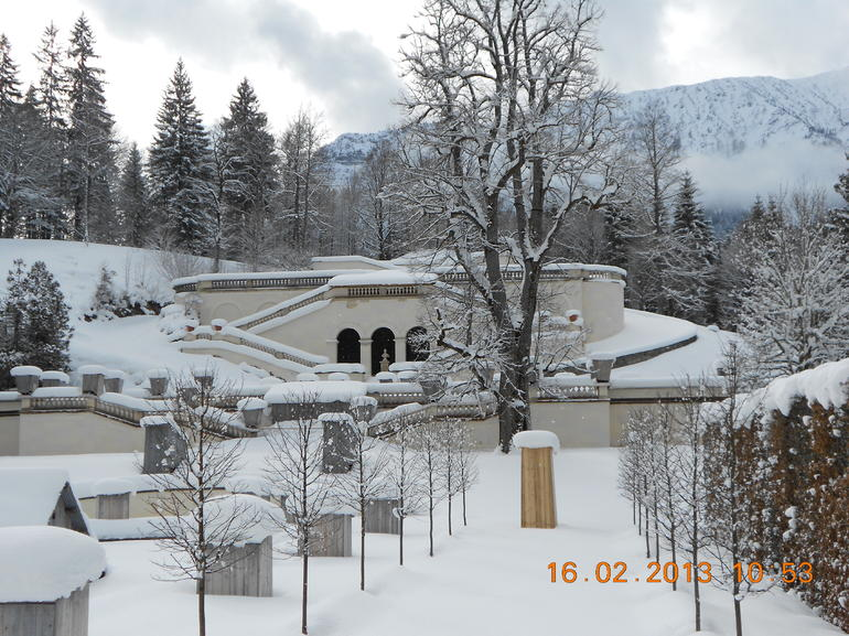 winter time at Linderhof - Munich