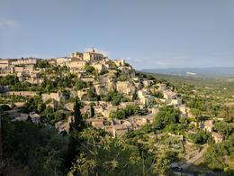 The scenic hilltop village of Gordes , Lynne A - June 2017
