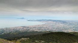 Bay of Naples from Mt. Vesuvius , Stephen G - July 2017