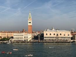 Iconic St. Mark's Square as we pulled into port , ralphdelia - October 2017