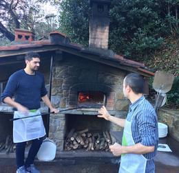 Wood burning oven , Janice C - January 2018