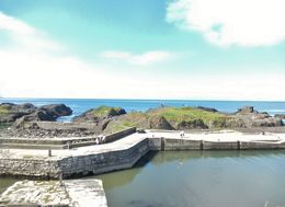 Ballintoy Harbour-exterior setting for some Game of Thrones ship boarding scenes , Joseph L - August 2015