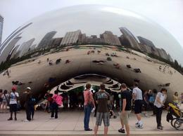 The Bean-impressive...lie underneath it to get some crazy interesting photos! , Kim C - July 2011