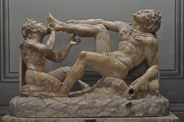 Sehr schöne erotische 2 Figuren Skulptur im Vatikan , Oliver K - July 2014