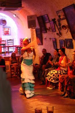Granada Flamenco Show in Sacromonte, SCV - December 2012