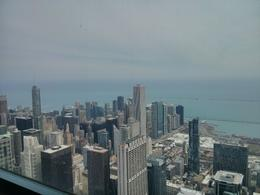 Lake Michigan View from the Sears Tower. , thepea - April 2014