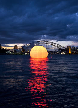 Opera performance on the Sydney Harbour from the 2014 season - March 2014