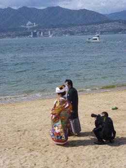 After the traditional wedding, there's the beach photography session. , Sandra S - April 2016