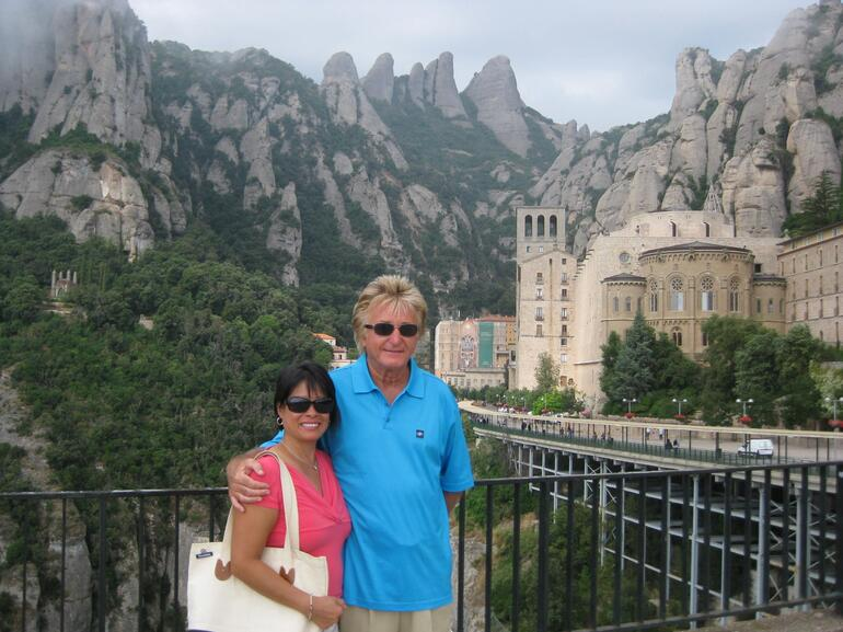 Montserrat - view from the top - Barcelona