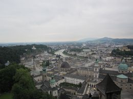 The top of the fortress in Salzburg! , Holly M - July 2016