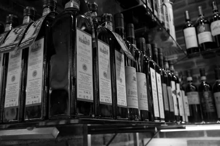 Sooo many olive oils to choose from! - Florence