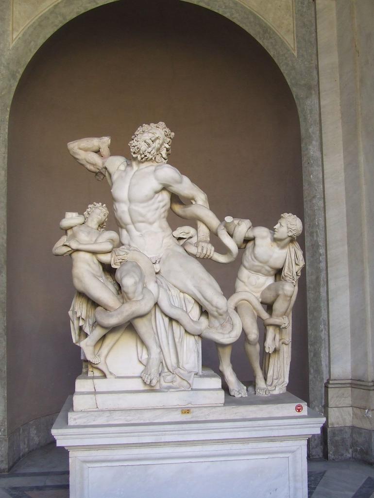 Statue in Vatican Museum - Rome