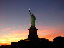 Lady Liberty at Sunset , Clive S - September 2015