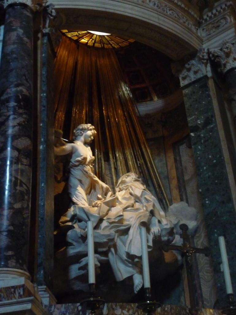 The Ecstasy of Saint Teresa - Rome